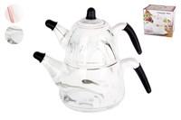 Набор чайников заварочных 1/2 микс 15х12CM.13х14CM KR892 Аquarelle