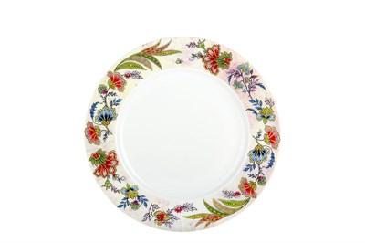 Тарелка десертная 19см  P011-A06949 Bright Ornamental - фото 37293