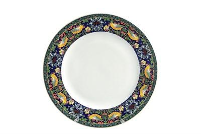 Тарелка десертная 19см  P011-A07023B Strawberry Thief (blue) - фото 37296