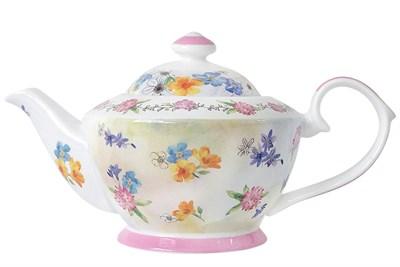 Чайник заварочный 800мл  Н001-А06934 Луговые цветы - фото 37333