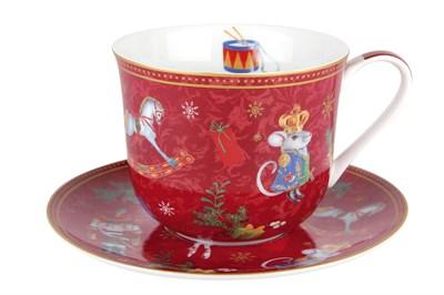 Пара чайная 370мл. jumbo B0940-A07055 Щелкунчик и мышиный король - фото 37362