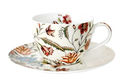 Пара чайная 250мл  B0939-A06952 Butterfly Flora - фото 37367