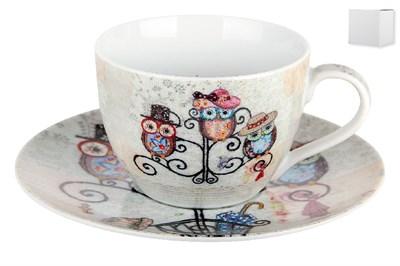 Пара чайная 250мл  B0939-A07011 Owl Hatstand - фото 37368