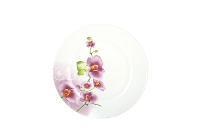 Тарелка десертная 18см круг OV1203-2 Орхидея - фото 37445