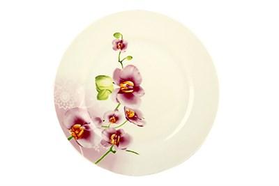 Тарелка десертная 20см круг OV1203-2 Орхидея - фото 37455