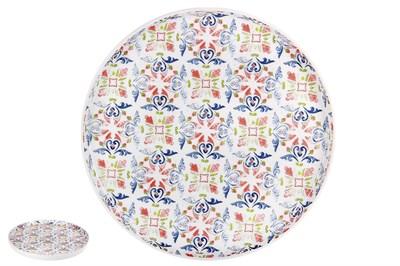 Тарелка десертная 21см  YQ1968 Azul - фото 37463