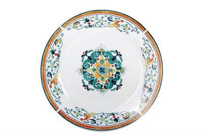 Тарелка обеденная 23см  YQ1936 Средиземноморский бриз - фото 37473