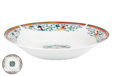 Тарелка суповая 500мл/20см  YQ1936 Средиземноморский бриз - фото 37481