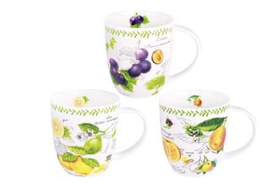 Кружка 420мл ф.дерби BD-M450-926 Fruit garden (3 диз) - фото 37511