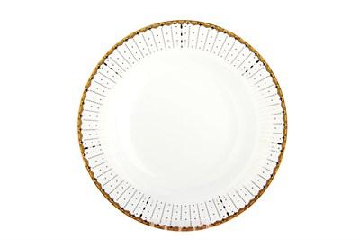 Тарелка десертная 20см круг SX-P802 Маркиза - фото 37639