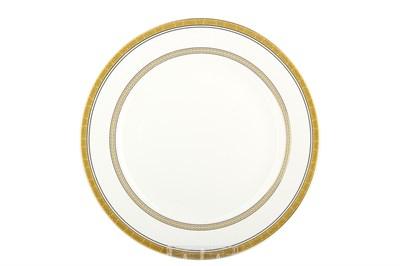 Тарелка десертная 20см круг SX-P803 Греческий узор - фото 37640