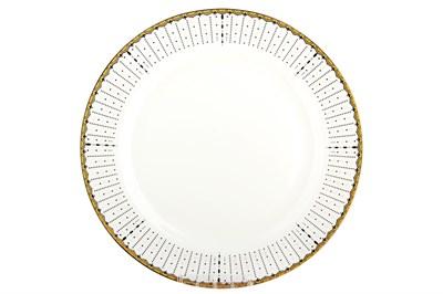 Тарелка обеденная 23см круг SX-P902 Маркиза - фото 37645
