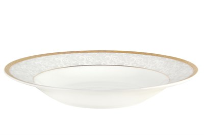 Тарелка суповая 20см круг SX-PS00 Аврора - фото 37649