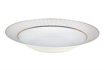 Тарелка суповая 20см круг SX-PS06 Шарлиз - фото 37654
