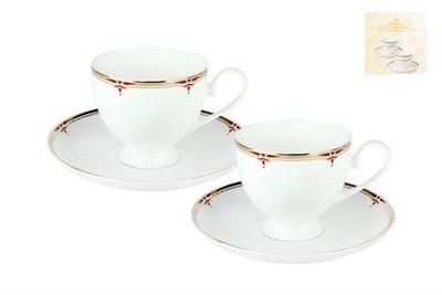Набор чайный 2/4 круглая 250мл п/уп SX-0061 Соната - фото 37665