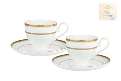 Набор чайный 2/4 круглая 250мл п/уп SX-0063 Греческий узор - фото 37667