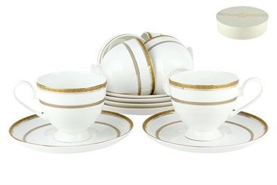 Набор чайный 6/12 круглая 250мл. п/уп SX-0013 Греческий узор - фото 37671