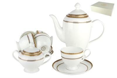 Набор чайный 6/14 1круглая 250мл. п/уп SX-0033 Греческий узор - фото 37675