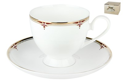 Набор чайный 1/2 круглая 250мл. п/уп SX-0051 Соната - фото 37704