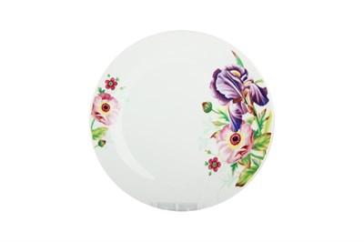 Тарелка десертная  18см  LX05728 Ирис - фото 37714