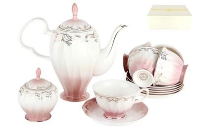 Набор чайный    6/14 250мл п/уп ZS014-3(14PCS) Симфония розовая - фото 37731