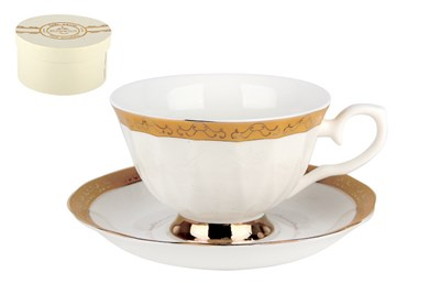 Набор чайный 1/2 250мл п/уп 590-1-402(1/2) Золотой дуэт - фото 37736
