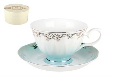Набор чайный 1/2 250мл п/уп L590-1-3(1/2) Симфония голубая - фото 37737