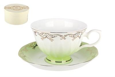 Набор чайный 1/2 250мл п/уп Q590-1-3(1/2) Симфония салатовая - фото 37738