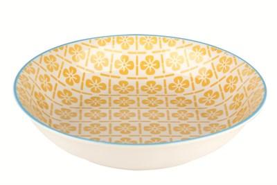 Тарелка глубокая 20см ф.круг HGP-W1545 Маис - фото 37897