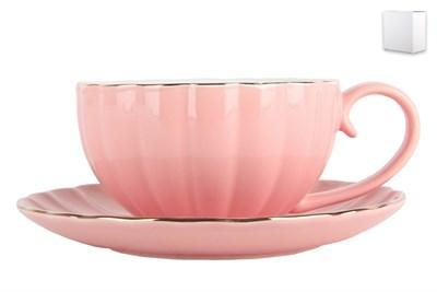 Набор чайный 1/2 ф.круг 280мл ZL09782-3 Нежность сакуры - фото 37961