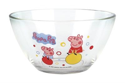 Салатник 130мм V-400мл 1542 PP/3 свинка пеппа.пузыри - фото 38040