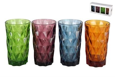 Набор стаканов 1/4 микс 500мл  4760 - фото 38160