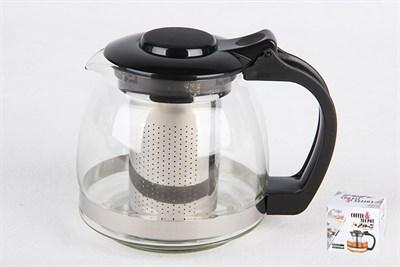 Чайник для заваривания 700мл 4166 метал.ситечко - фото 38174