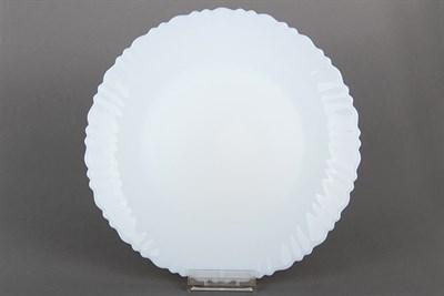 Тарелка плоск.24см волнистый край DBP30-9.5 классика-3 - фото 38193