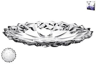 Блюдо сервировочное 34см DSP2015-13 гранение лед - фото 38195