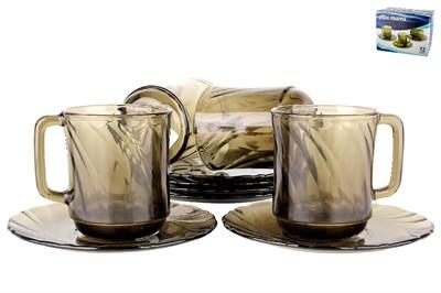 Набор чайный 1/12  62199 дымка, Альта - фото 38239