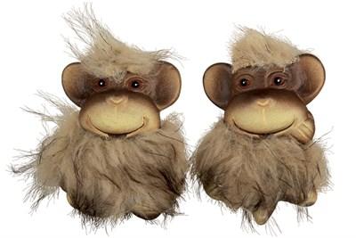 Фигурка декоративная/магнит 6х5х2см FQ14703B-M обезьянка-4 - фото 38326
