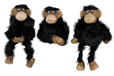 Фигурка керамическая 5х4.5х8см ZY14722C обезьянка-3 - фото 38328