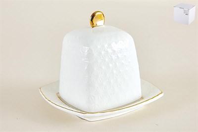 Блюдо д/лимона с крышкой 10см ф.квадр. CS607110-A снежная королева/з - фото 38395