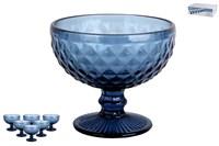 Набор креманок 1/6 300мл. GB2610D01DZS Гвент синий