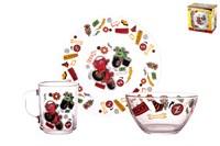 Набор посуды 1/3 п/уп 18с2048 Рикки Зум
