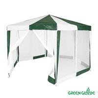 Тент садовый Green Glade 1001 2х2х2х2,6м полиэтилен