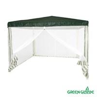 Тент садовый Green Glade 1028 3х3х2,5м полиэтилен