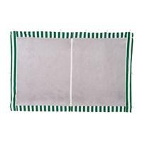 Стенка для садового тента Green Glade 4130 1,95х2,95м полиэстер с москитной сеткой зеленая (20)
