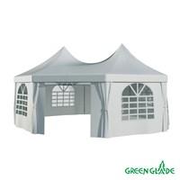 Тент садовый Green Glade 1052 2,5х2,5х2,5х2,5х3,4м полиэстер (2 коробки)