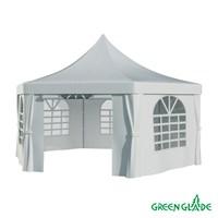 Тент садовый Green Glade 1053 2,5х2,5х2,5х3,4м полиэстер (2 коробки)
