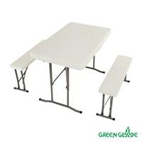 Набор: стол, 2 скамьи 113
