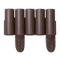 Бордюр для сада Palisada 2.35м коричневый