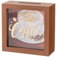 КОПИЛКА КОЛЛЕКЦИЯ COFFEE & TEA TIME 15*5*15 СМ