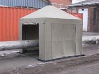 Палатка сварщика Митек 3.0х3.0 (брезент) (производство)